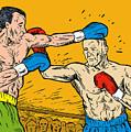 Boxer Punching by Aloysius Patrimonio