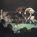 Boxing Match by George Luks