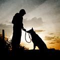 Boy And His Dog by Clayton Bastiani
