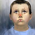 Boy Clown by Angela Murdock