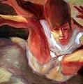 Boy Falling by Bob Dornberg