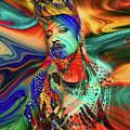 Boy George Digital Art by Davids Digits