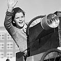 Boy In In Go-cart, C.1940-30s by Debrocke/ClassicStock