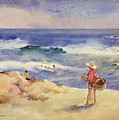 Boy On The Sand by Joaquin Sorolla