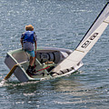 Boy Sailing by Shawn Jeffries
