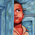 Boy Waiting At Door by Sneha Choudhary