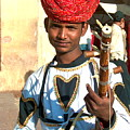 Boy With A Flute by Dorota Nowak