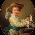 Boy With A House Of Cards                                   by Mountain Dreams