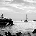 Boys At Boothbay Harbor by Filipe N Marques