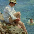 Boys Bathing by Henry Scott Tuke