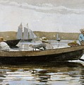 Boys In A Dory, By Winslow Homer, by Winslow Homer