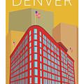 Denver Brown Palace/gold by Sam Brennan