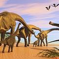Brachiosaurus Beach by Corey Ford