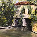 Brackenridge Park Pump House by Cheryl Damschen