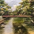Brackenridge Train Bridge by Cheryl Damschen