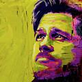 Brad Pitt Fury by Juan Pereira
