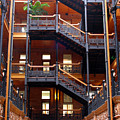 Bradbury Building Atrium by Al Blackford