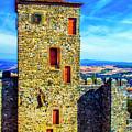 Braganca Castle Tower by Roberta Bragan