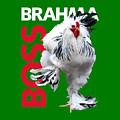 Brahma Boss T-shirt Print by Sigrid Van Dort
