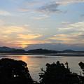 Brahmaputra Sunset by Samiksa Art