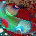 Brains In Motion 5 by Ron Bissett