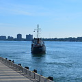 Bramble Leaves Port by Randy J Heath