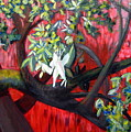 Branch In The Red by Rebecca Merola