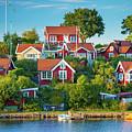 Brandaholm Cottages by Inge Johnsson