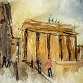 Brandenburg Gate by Brigitte Harper