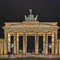 Brandenburg Gate by Joachim G Pinkawa