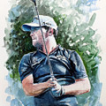 Branden Grace Watercolor by Mark Robinson