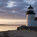 Brant Point Light Number 1 Nantucket by Henry Krauzyk