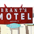 Brants Motel Sign Barstow by Douglas Settle