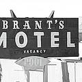 Brants Motel Signage by Douglas Settle