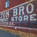 Braselton Bros, Inc Sign by Doug Camara