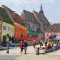 Brasov Council Square by Jeffrey Kolker