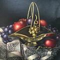 Brass Basket by Michelle Kerr