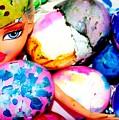 Brat Egg Head by Danielle Valencia D
