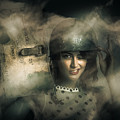 Brave Army Pinup by Jorgo Photography - Wall Art Gallery