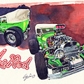 Brazilian Hot Rod V8 by Yoshiharu Miyakawa