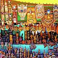 Brazilian Masks by Evan Peller