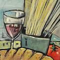 Bread Pasta Wine by Tim Nyberg