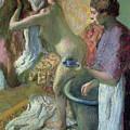 Breakfast After A Bath by Edgar Degas