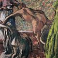 Breakfast After The Bath, 1895 by Edgar Degas