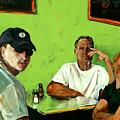 Breakfast In New Jersey-i by Michelle Winnie