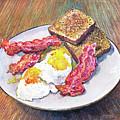 Breakfast Is Served by Franco Puliti
