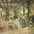 Breakfast On The Terrace Sir John Lavery by Eloisa Mannion