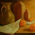 Breakfast Oranges by Tom Forgione