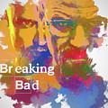 Breaking Bad Watercolor by Dan Sproul