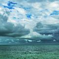 Breaking Clouds In Key West, Florida by Bob Slitzan